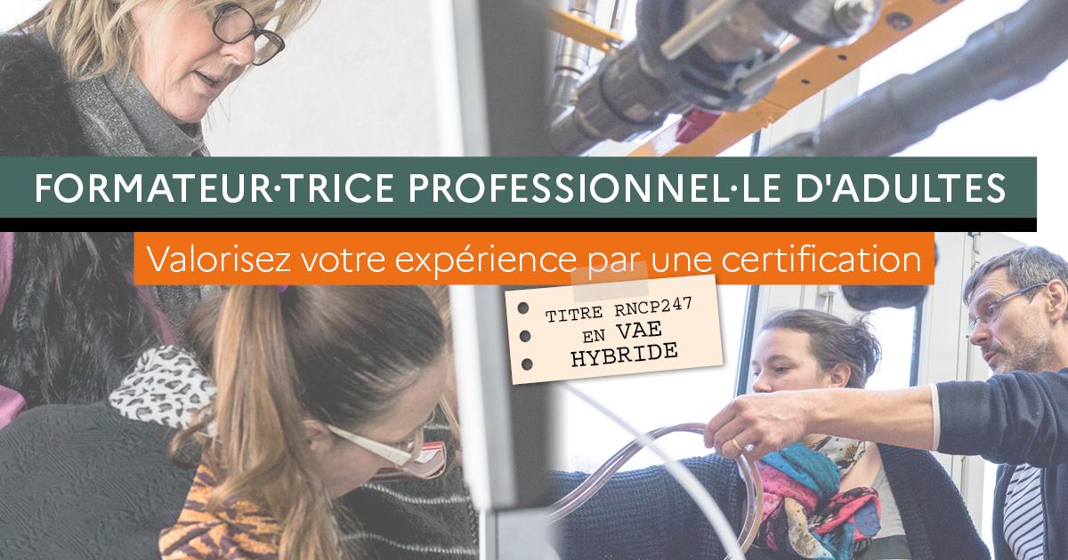 Valorisez votre expérience par une certification